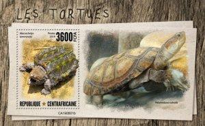 C A R - 2019 - Turtles - Perf Souv Sheet  - M N H