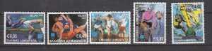 J26438  jlstamps 2003 greece set mnh #2075-9 sports