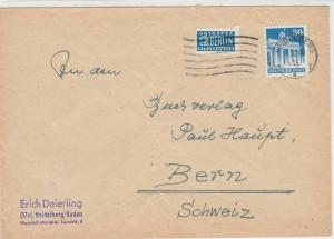 Germany 1949 Heidelberg Cancel Obligatory Tax Aid for Berlin Stamps CoverRf27369