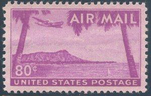 US Scott #C46 Mint XF/S, NH, PSE (Graded 95)