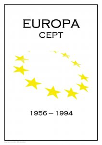 EUROPA CEPT  STAMP  PDF (DIGITAL)  ALBUM PAGES 1956-1994
