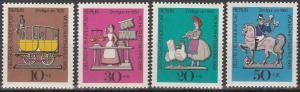 Germany #9NB65-8  MNH VF (V2315)