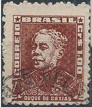 Brazil 795 (used) 1cr Luís Alves de Lima e Silva (1954)