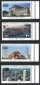 Palestine. 1996. 47-50. Architecture, buildings, mosque. MNH.