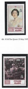 Pitcairn islands   mnh sc  336-337