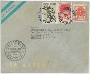 ARGENTINA - POSTAL HISTORY: COVER to ITALY 1950
