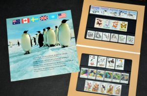 1989 Our World International Images Of Nature Stamps Book New With Stamps