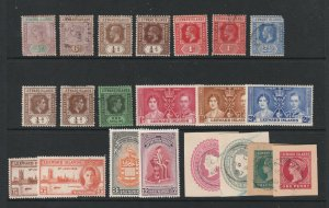 Leeward Is a small lot of pre 1952 used & mainly MH