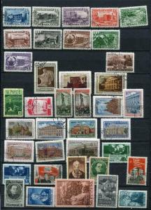Russia/USSR 1950 Accumulation  Used Complete sets 2 pages
