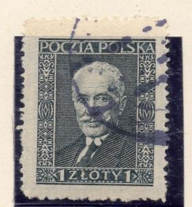 Poland 1928 Early Issue Fine Used 1z. 254573