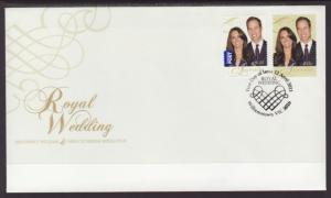 Australia 3447-3448 Royal Wedding U/A FDC