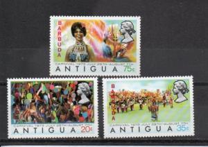 Barbuda 105-107 MNH