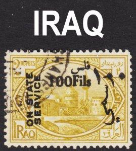 Iraq Scott O51 VF used.
