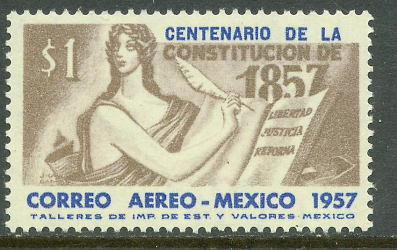 MEXICO C240 Centenary of the 1857 Constitution. MNH