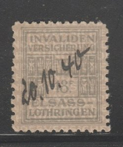 France and Colonies revenue Fiscal stamp 11-9-20