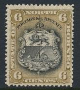 North Borneo SG 73a MH SC#63   perf 13½ x 14  see details & scans