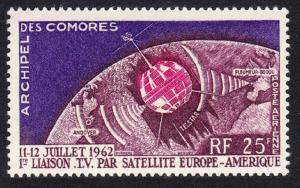 Comoro Is. Space Telstar 1v SG#32 SC#C7 MI#51