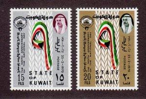 Kuwait Scott #490-491 MH