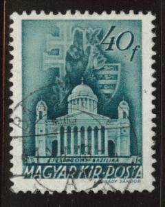 Hungary Scott 589 Used