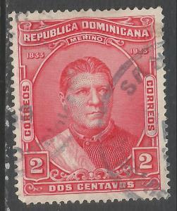 DOMINICAN REPUBLIC 268 VFU O88-2