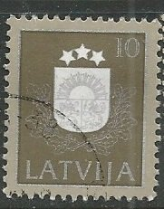 Latvia || Scott # 301 - Used