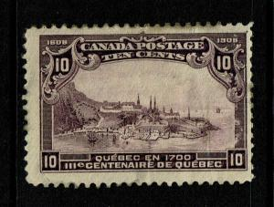 Canada SC# 101, Mint Hinged, Hinge Remnants, some creasing, see notes - S6789