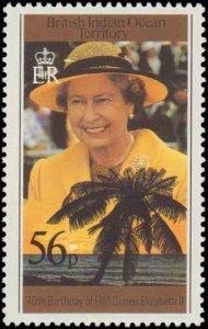 1996 British Indian Ocean Territory #176-179, Complete Set(4), Never Hinged
