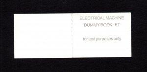 TESTING DUMMY BOOKLET