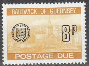 Guernsey #J25  MNH   (S9407)