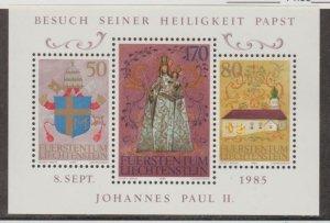 Liechtenstein Scott #816 Stamps - Mint NH Souvenir Sheet