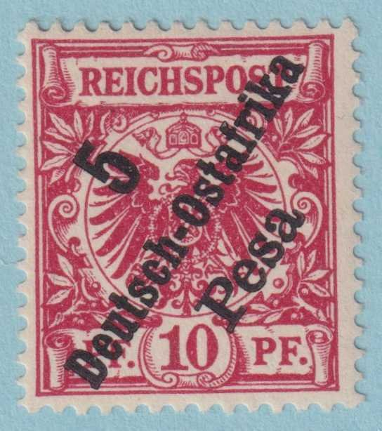 GERMAN EAST AFRICA 8 MINT HINGED OG * NO FAULTS EXTRA FINE!