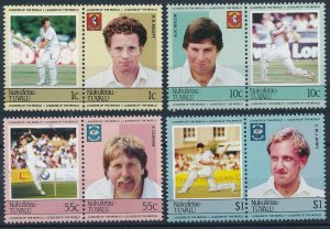 1985 Tuvalu Nukufetau 23-30Paar Cricket 8,00 €