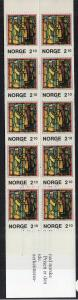 Norway 901a Christmas Booklet MNH VF