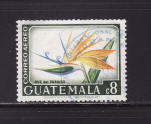Guatemala C353 U Flowers, Bird of Paradise
