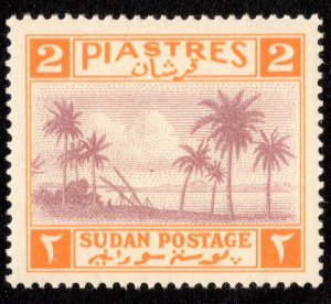 Sudan Scott 71 Unused hinged.
