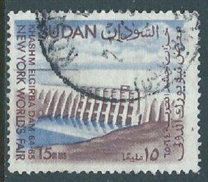 Sudan, Sc #167, 15m Used