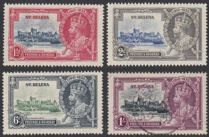 St. Helena 111-114 MH / Used (see Details) CV $25.15