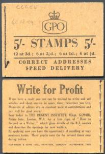 H36e November 1958 CCCEE 5/- Booklet