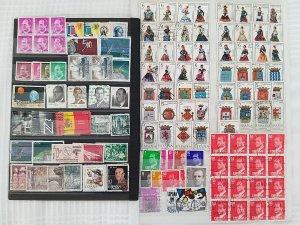 Lot Spain 120 stamps used/unused