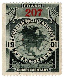 (I.B) Canada Telegraphs : Canadian Pacific (1901)
