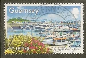 Guernsey     Scott  1254   Britain in Bloom    Used