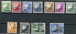 Germany 1934 SC C46-C56 MI 539-539 Used CV 95.00 Euro
