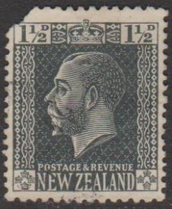 New Zealand Sc#161 Used Spacefiller