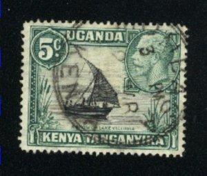 Kenya, Uganda, Tanzania 47   used VF 1935 PD