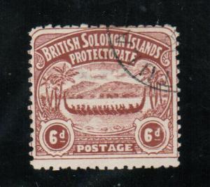 Solomon Islands #6 Used Fine