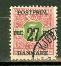 Denmark 143 used CV $26