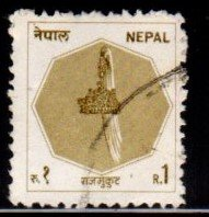 Nepal #447 Crown of Nepal - Used