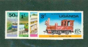 UGANDA 155-58 MH BIN$ 2.00