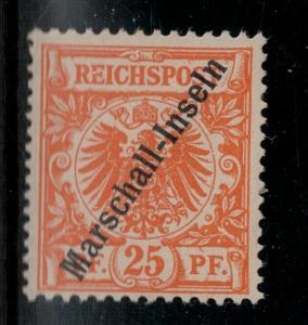 Marshall Islands 1897 SC 5 Mint SCV$ 140.00