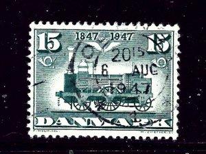 Denmark 301 Used 1947 Locomotive